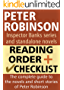 Peter Robinson Reading Order and Checklist: The complete guide to the novels and short stories of Peter Robinson