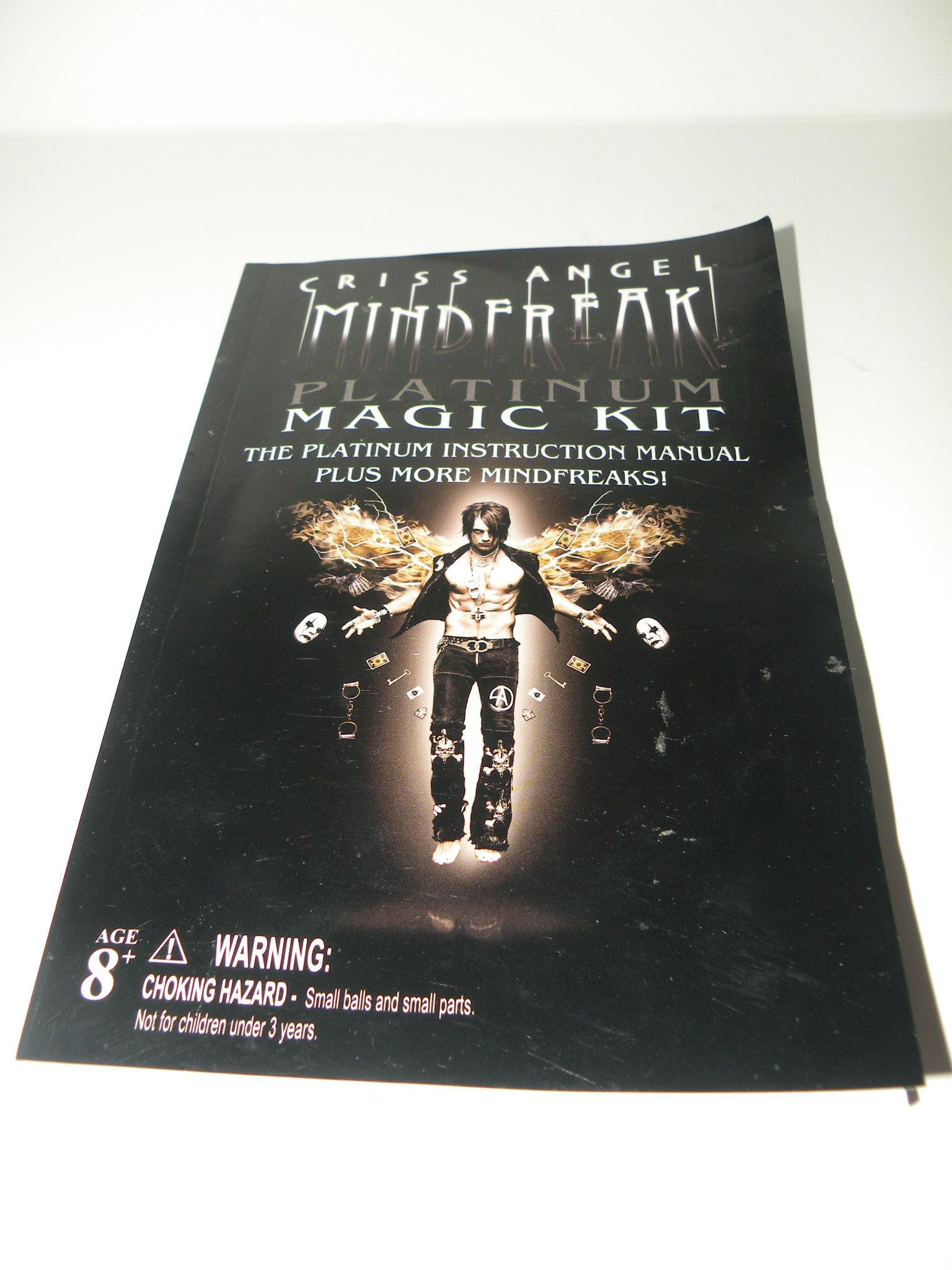 Criss Angel Mindfreak - Platinum Magic Kit: The Platinum Instruction Manual (Plus More Mindfreaks!) pdf epub