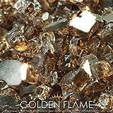 "Golden Flame 10-Pound ""Fire Glass"" 1/2-Inch Rich Copper (Reflective-Supreme)"