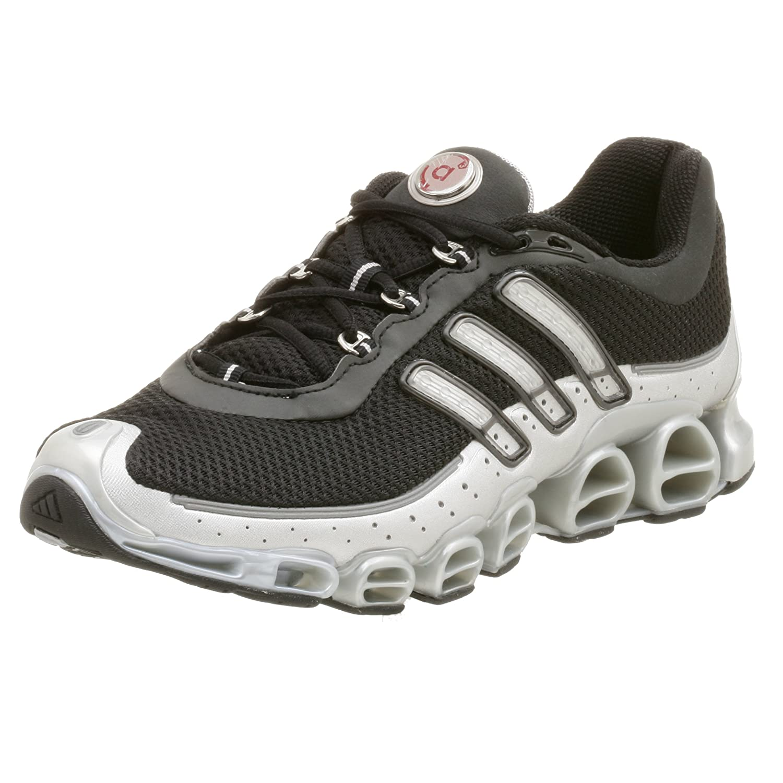 005dac1d282c9 adidas Men's a3 Megaride Running Shoe,Black/Metallic Slvr,10 M ...