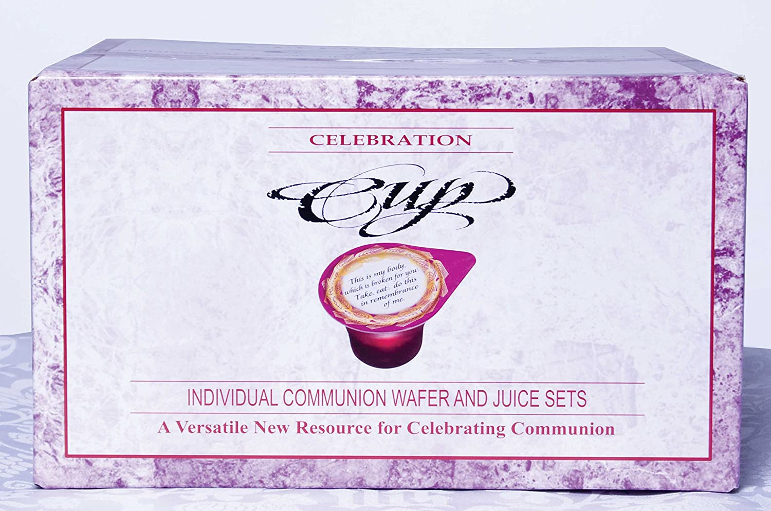 Celebration Cup Communion Wafers and Pre-filled Juice Cups - 250 Count