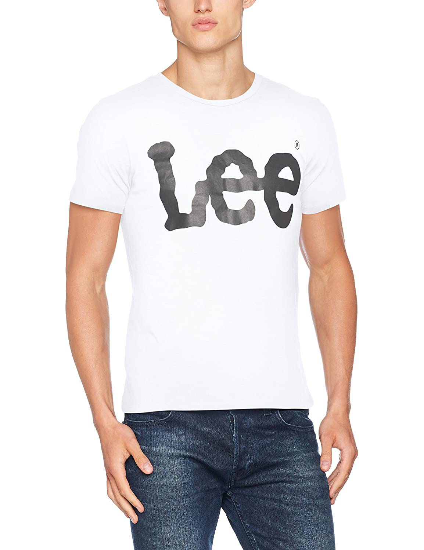 Lee Logo tee Camiseta para Hombre