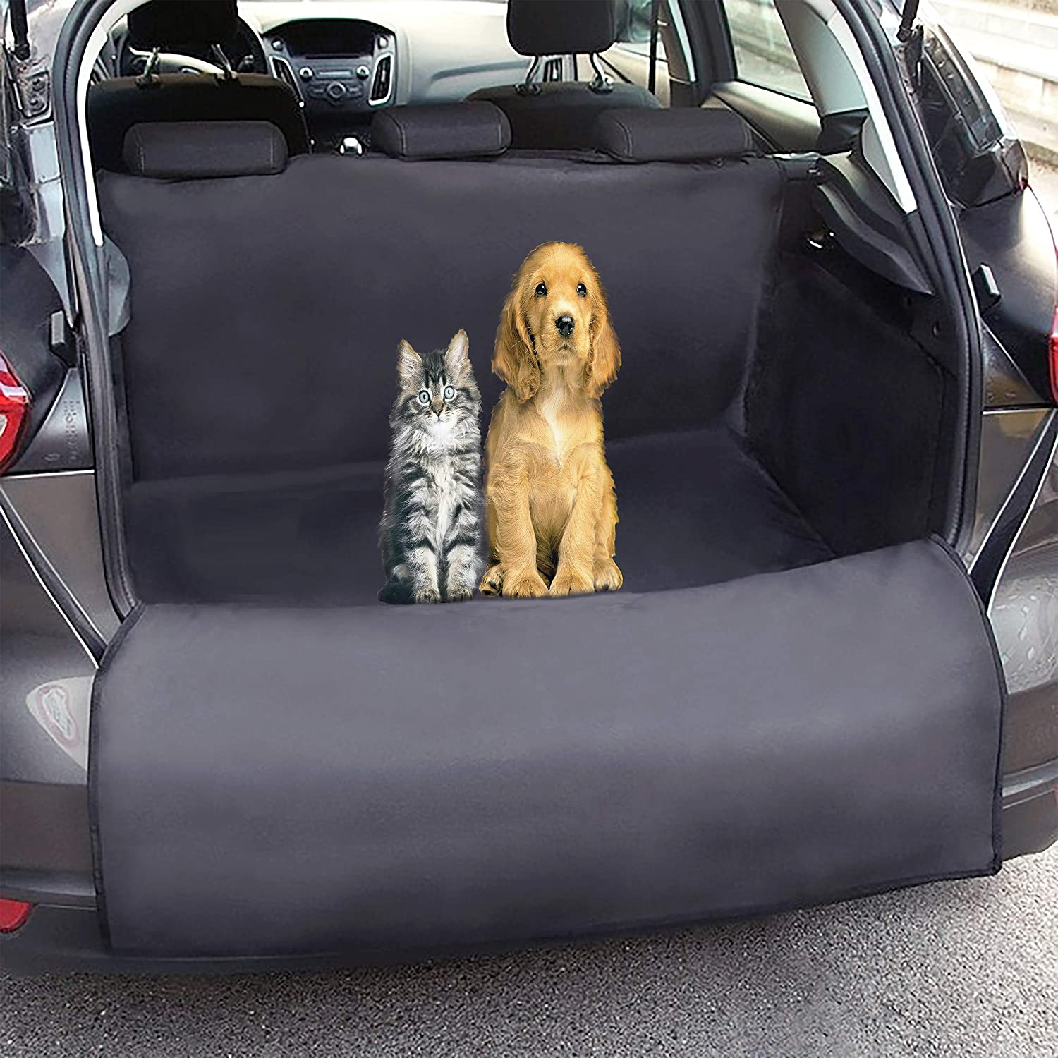 MAYA77 Waterproof Dog Car Seat Cover- Non-Slip Hammock Blanket Set Cover, Best Pets Travel Accessories for Dogs
