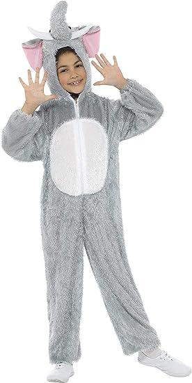 SmiffyS 30809 Disfraz De Elefante Con Traje Entero Con Capucha ...