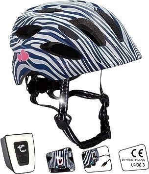 Casco de bicicleta para niños ajustable de tamaño infantil a ...