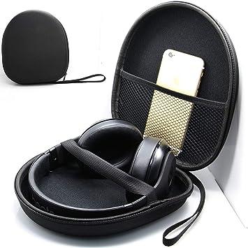 Blufied EVA Carcasa rígida con práctico Estuche para Auriculares Estuche para Auriculares Estuche para Auriculares Funda de Viaje para Sony Sennheiser Rojo: Amazon.es: Electrónica