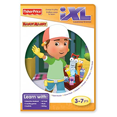 Fisher-Price iXL Learning System Software Disney Handy Manny: Toys & Games
