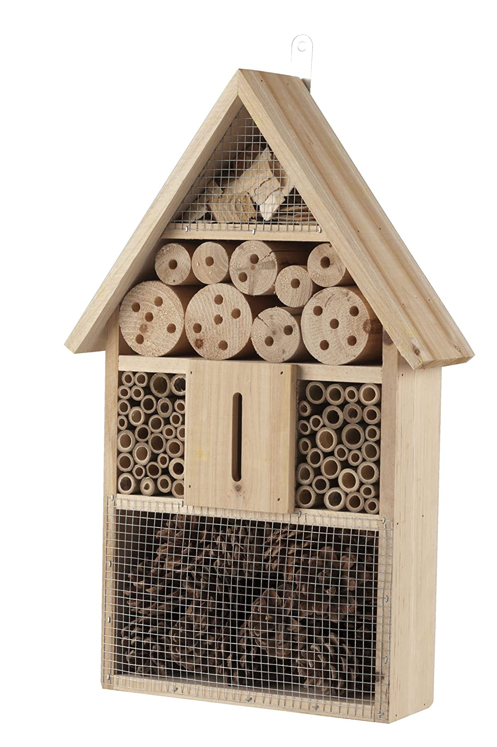 Large Wooden Bee and Insect Hotel Lifetime