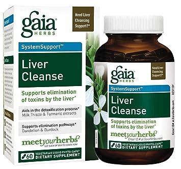 Amazon Com Gaia Herbs Liver Cleanse Liquid Phyto Capsules 60 Count