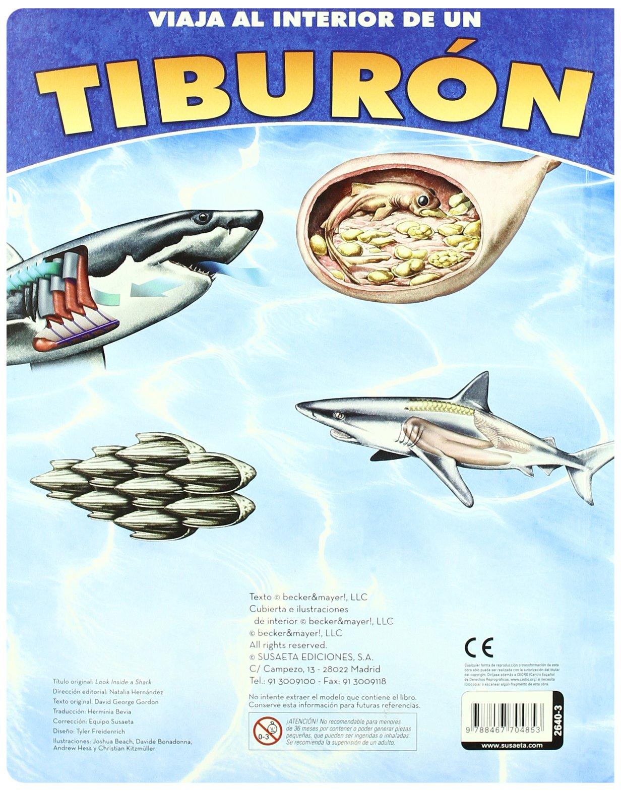 Tiburón (Viaja al interior de...): Amazon.es: Susaeta Ediciones S A: Libros