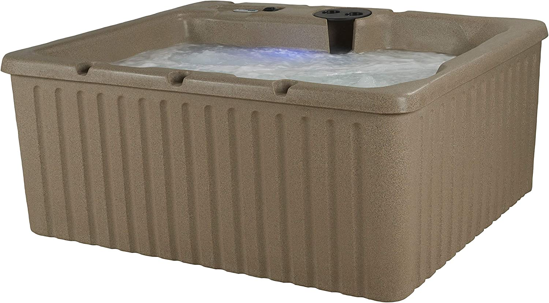 Essential 14 Jet Hot Tub Newport with Cobblestone
