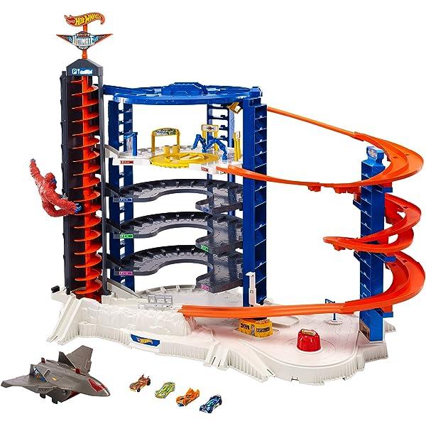 Hot Wheels Ultimate Garaj Dev Kule Mattel Fdf25 Amazon Com Tr