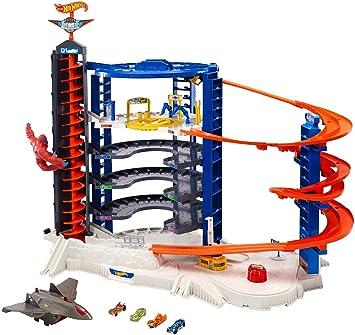 Hot Wheels 5er Geschenkset HW Super Ultimate Garage Spielzeugautos