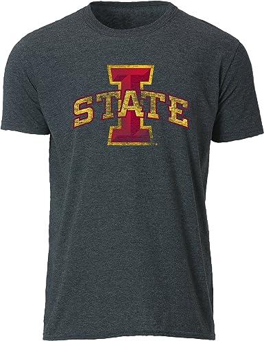 Dark Grey Heather X-Large NCAA Boise State Broncos Youth Vintage Sheer Short Sleeve Tee
