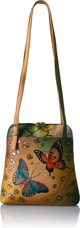 foldable compact bag Numbat shopping bag \u2013  hand made and block printed Australian wildlife calico with polka dots binding