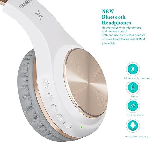 Bluetooth Kopfhörer Rriwbox Xbt 80 Faltbare Kabellose Elektronik