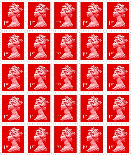 Tracked Delivery 24 X 1st Class Royal Mail Postage Stamps