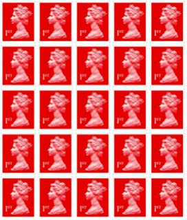 12 X 1st Class Standard Self Adhesive Postage Stamps Amazon