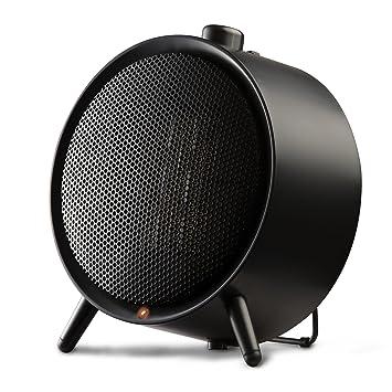 Honeywell HCE200 - Calefactor cerámico redondo 1500W, color negro