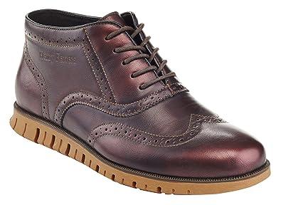 c9b3d06c4d77 Henry Ferrera Men s Casual Wingtip Brogue Oxford Shoes