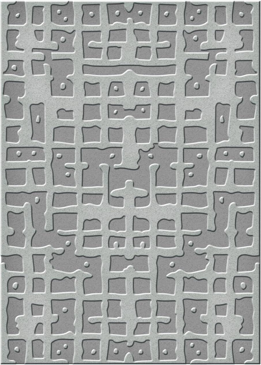 Spellbinders SES-006 Circles and Diamonds Embossing Folder