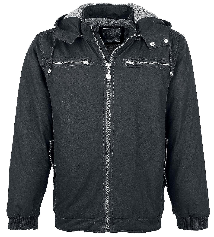 R.E.D. by EMP Lined Cotton Jacket Jacket black