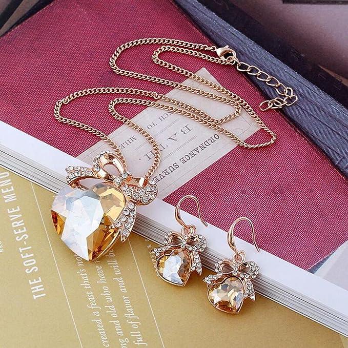 Pendant Chain Wedding Jewelry.