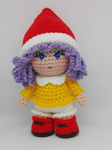 piccolo cappello di Babbo Natale | Modelli natalizi all'uncinetto ... | 500x375