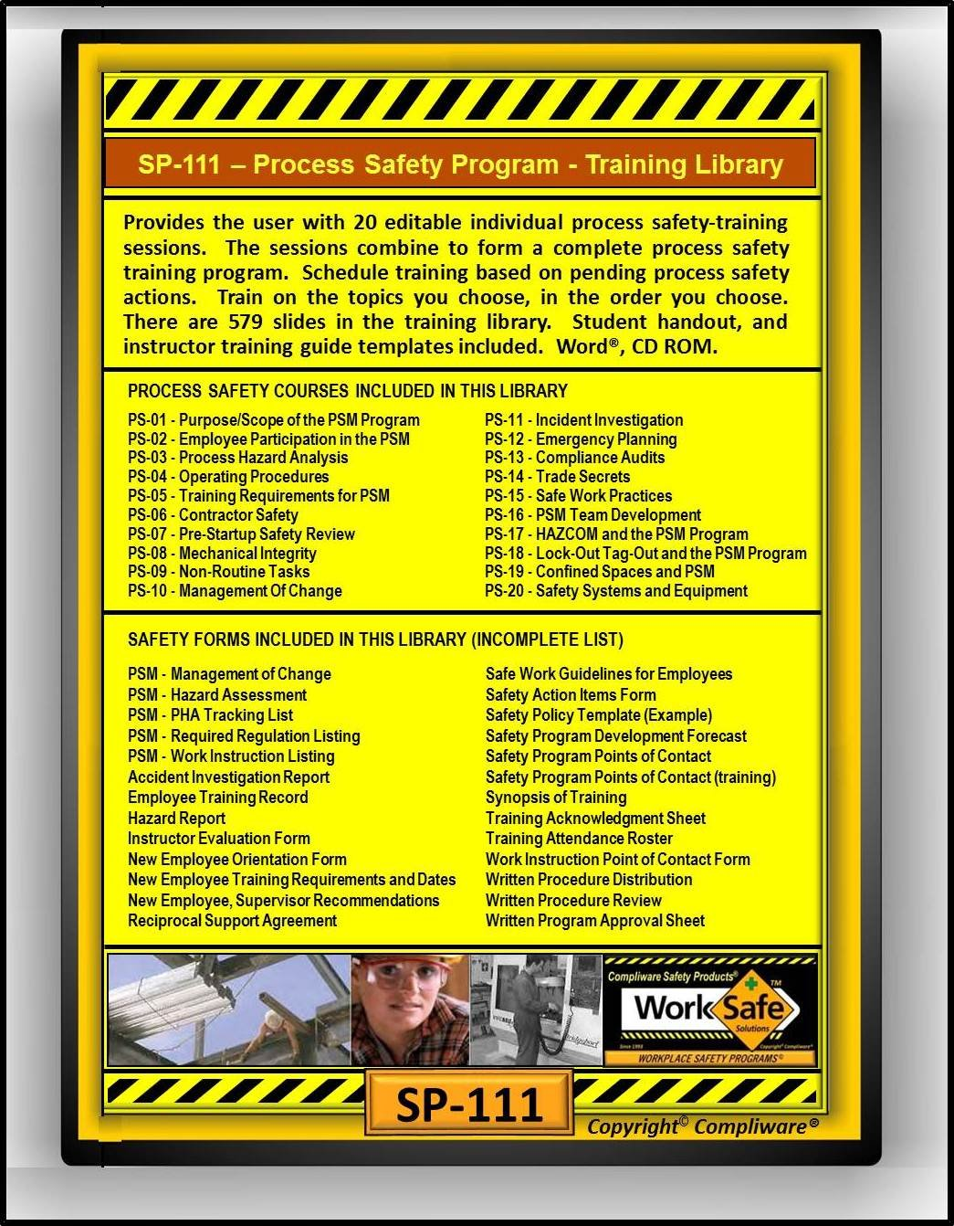 Amazon sp 111 process safety training library osha 29 amazon sp 111 process safety training library osha 29 cfr 1910119 upc 639737374988 pronofoot35fo Image collections