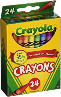 product image for Crayola Crayons 24 Count, 6 Pack (52-0024-6)