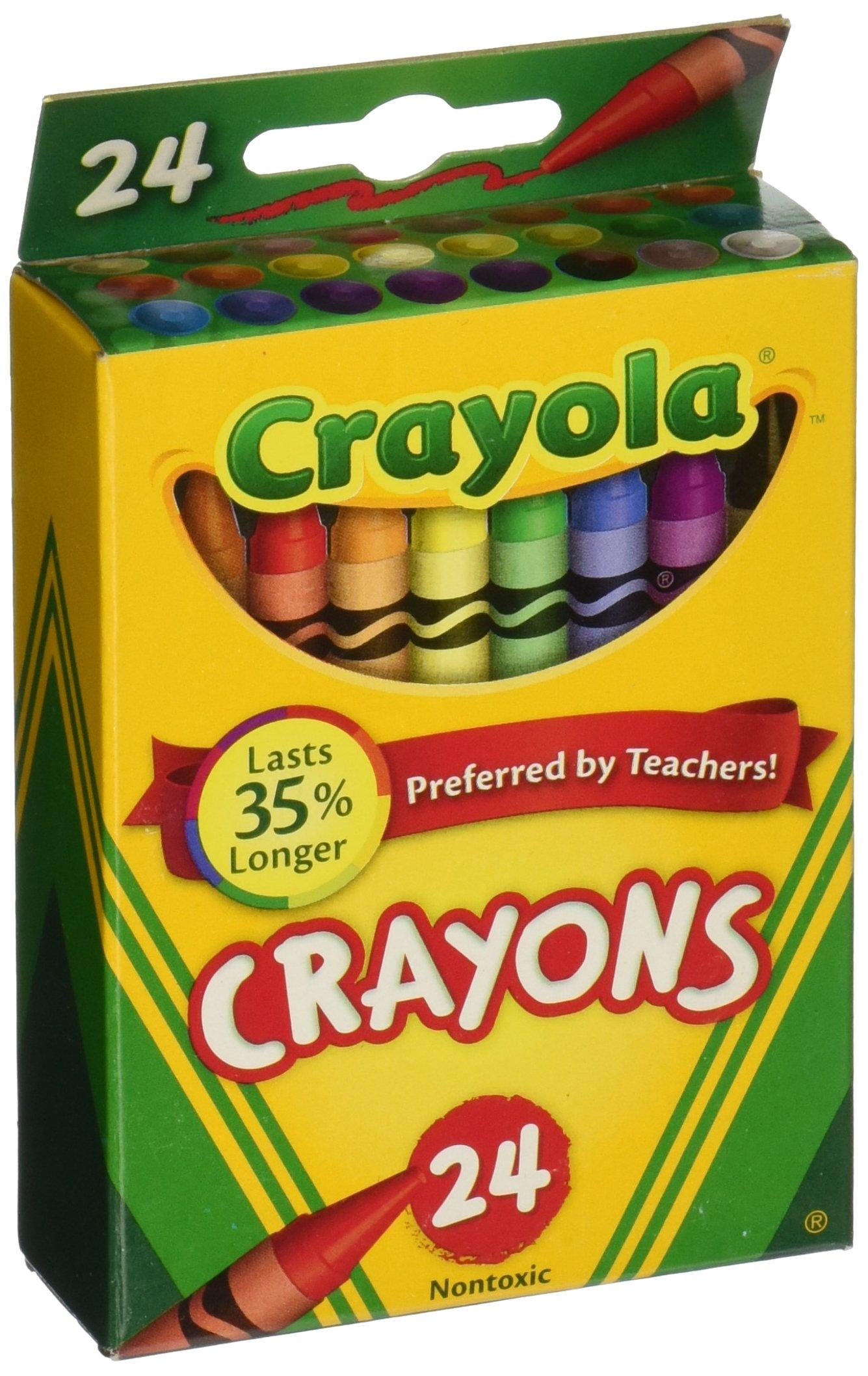 Crayola Crayons 24 Count, 6 Pack (52-0024-6) by Crayola