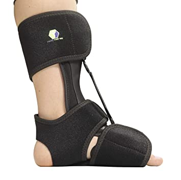 e841cd3b47 Comfort Dorsal Night Splint - Pain Relief from Plantar Fasciitis, Drop Foot,  and Achilles