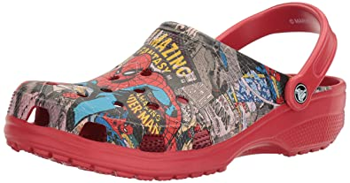 5e9bcea377ca88 Crocs Unisex Classic Spiderman Clog Mule  Amazon.co.uk  Shoes   Bags
