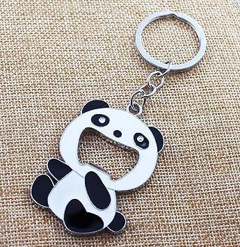 Chino Panda llavero creativo novedad regalos Panda Metal ...