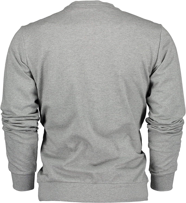 EA7 Men's Medium Grey Sweatshirt Grau