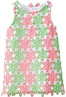 Mud Pie Girls' Sleeveless Smocked Neckline Sun Dress
