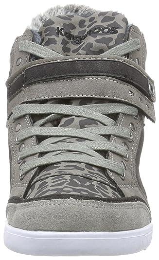 Amazon.com | KangaROOS Womens K-Basket 5005C High-top Trainers Gray Size: 5 | Fashion Sneakers