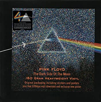 The Dark Side of the Moon (40th Anniversary 180 Gram 320kpbs Mp3 & Poster)  Special Limited Edition, Original recording reissued, Original recording