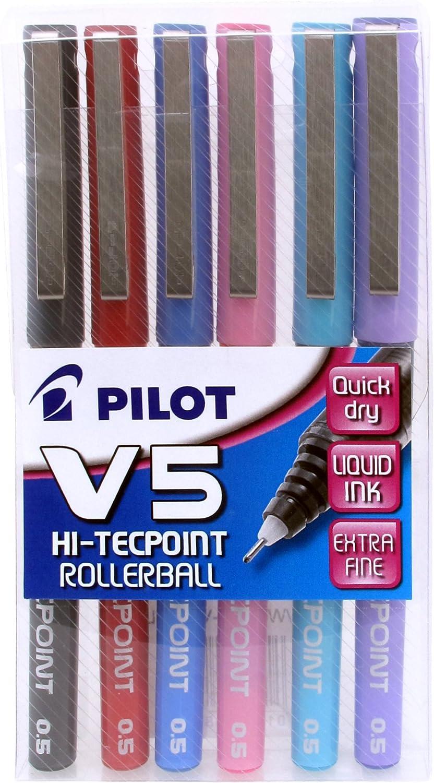 Boligrafo boli roller 05 verde punta aguja v5 pilot bx-v5