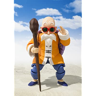 Bandai Tamashii Nations S.H. Figuarts Master Roshi Action Figure,: Toys & Games