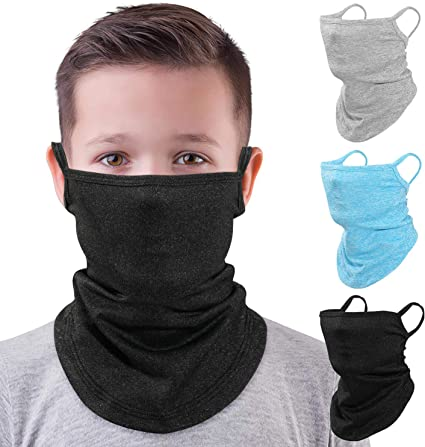 Bandana Face Mask,Cycling Mask,Sun UV Protection Ear Loops Face Balaclava Neck Gaiters for Dust Mask Outdoors,Sports
