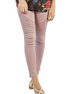 bba3866ae39af Sassyclassyjewelry Womens Moto Leggings Zipper Jeggings Stretchy ...