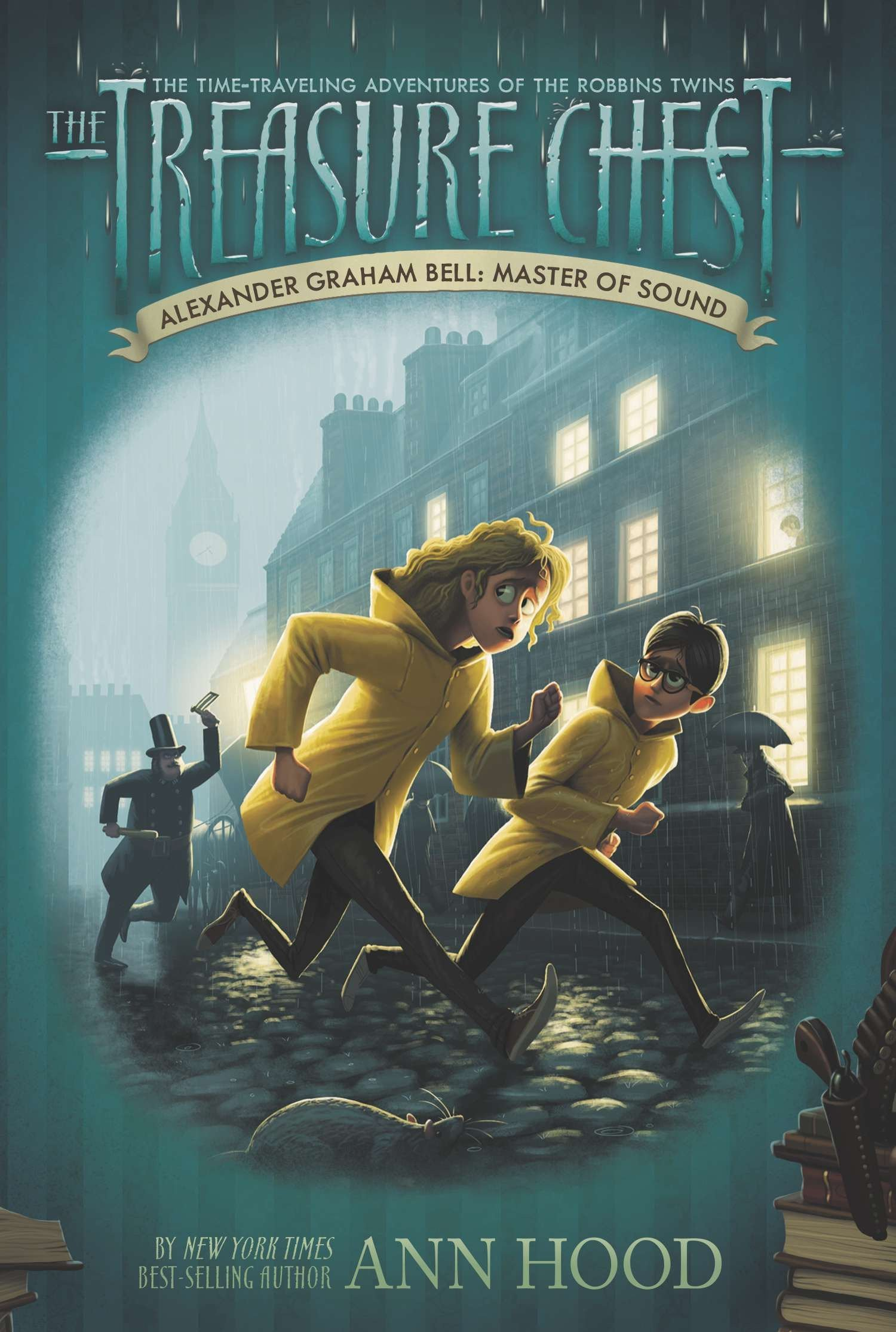Read Online Alexander Graham Bell #7: Master of Sound (The Treasure Chest) Text fb2 ebook