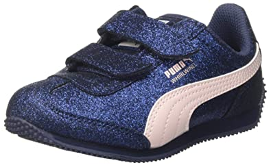 Puma Whirlwind Glitz V PS, Sneakers Basses Fille