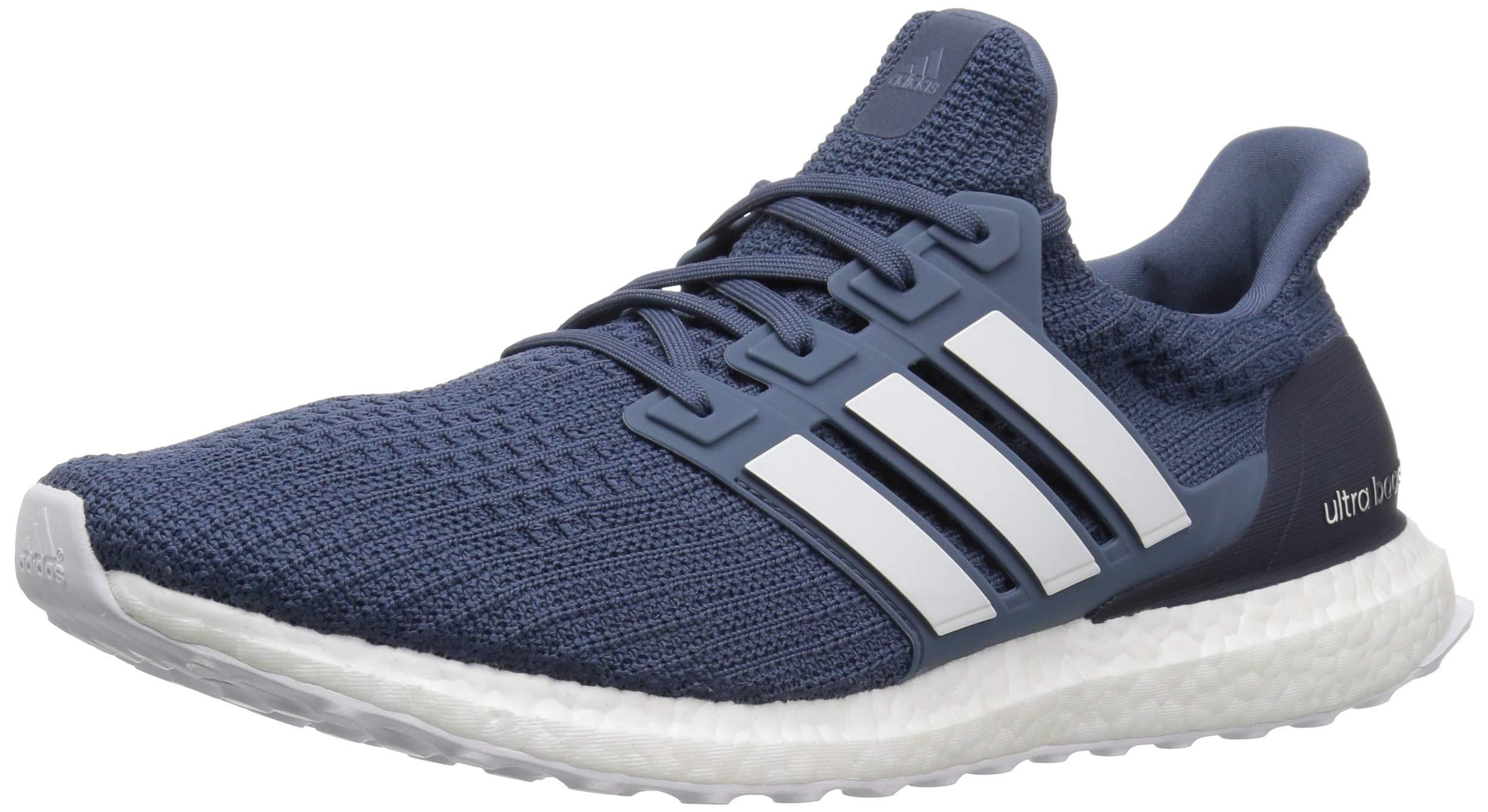 adidas Men's Ultraboost Running Shoe tech Ink/Cloud White/Vapour Grey 7.5 M US