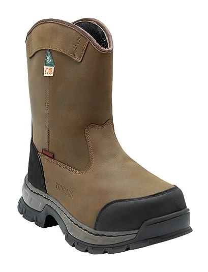 65c69da69ce TRUGARD Work Boots for Men, Men's Work Boots, Work Boots Steel Toe Boots,  Steel Toecap, Welding Boots Electrical Hazard Puncture Resistant Waterproof  ...
