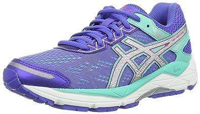 Asics Gel-Fortitude 7, Zapatillas de Running para Mujer, (Primrose Purple/Silver/Sport Pink), 43.5 EU: Amazon.es: Zapatos y complementos