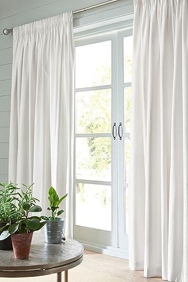 Amazonde Next Lichtundurchlässige Vorhänge Aus Baumwolle