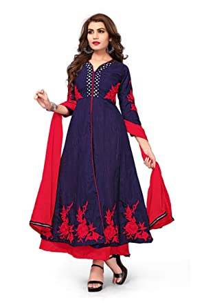ceedd9ad09ce Royal Export Women s A-Line Maxi Dress (MRR Blue 3XL Blue One Size)  Amazon. in  Clothing   Accessories