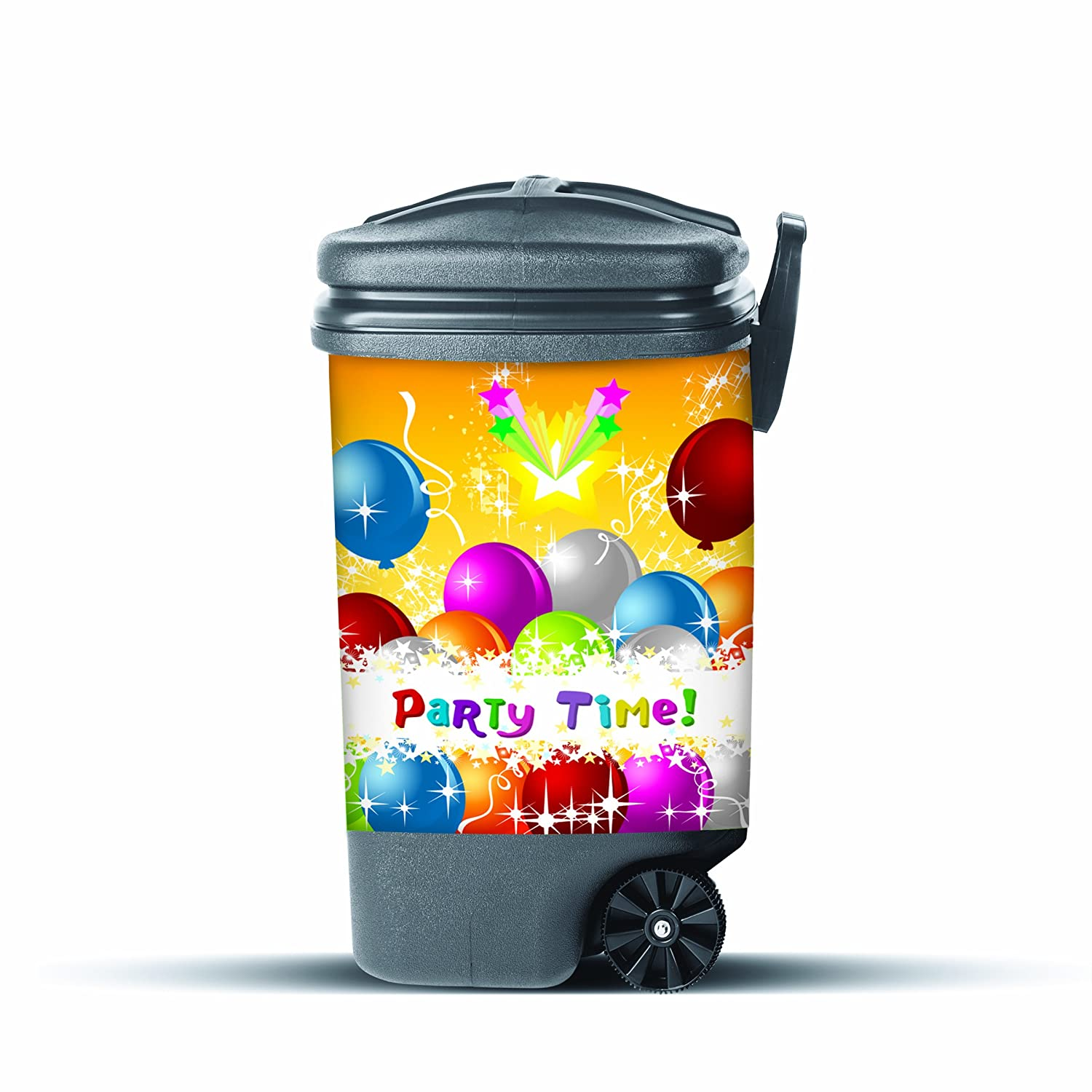 Garbage Pantz GP-PRTY Party Design Cover for Outdoor Trash Cans